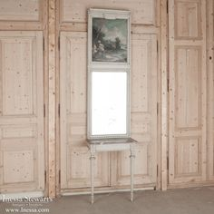 Antique Trumeau Mirrors | Louis XVI Console And Trumeau Mirror | www.inessa.com