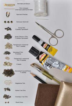 Мастер-класс: брошь из бисера «Стрекоза» - Ярмарка Мастеров - ручная работа, handmade