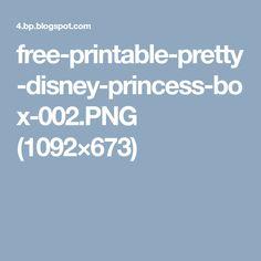 free-printable-pretty-disney-princess-box-002.PNG (1092×673)