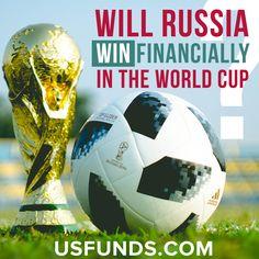 Will Russia Win Financially in the World Cup? Fifa Football, Winter Olympics, Fifa World Cup, Investors, Soccer Ball, Economics, Stock Market, Russia, Finance