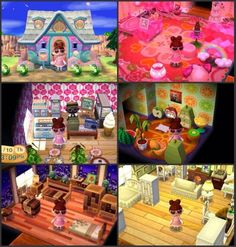 psychadelily:  My acnl house! It's pretty much done, and I'm really proud of it! This game is for real one of the only reasons I'm happy in life.