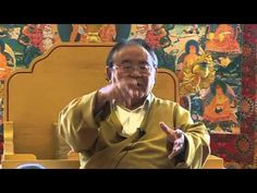 Sogyal Rinpoche - Giving your mind a rest - YouTube