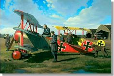The Brothers Richthofen (Fokker Dr. 1)