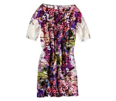 Theia Silk Dress.  I'm a sucker for bright florals. Looking forward to spring!