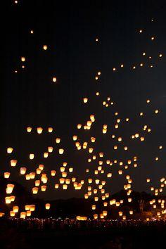 Lantern Festival in Taiwan...