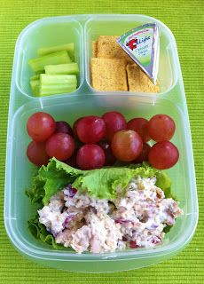 Operation: Lunch Box: Day 59 - Roasted Chicken Salad I will sub the mayo for low fat Greek yogurt