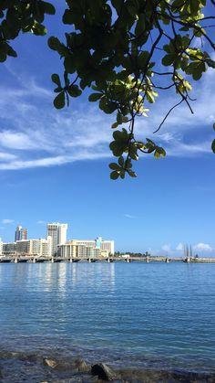 Condado Lagoon, Miramar, San Juan, Puerto Rico. San Francisco Skyline, Puerto Rico, New York Skyline, City, Travel, San Juan, Viajes, Puerto Ricans, Cities