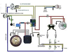Battery Less Wiring Diagram With A Horn And Indicators Yamaha Xs650 New Circuit Diagram Xs650 Diagram