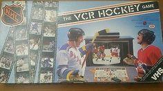 NHL VCR Hockey game vintage 1987 interactive ESPN board game