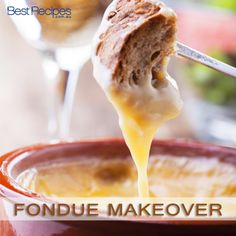 How to make fondue. Retro recipe for best fondue. #retro #recipes #cheese