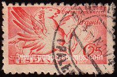 Cool Pegasus stamp from 1939.