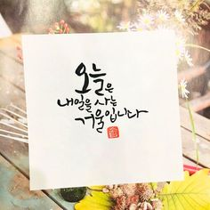 Caligraphy, Calligraphy Art, Typography, Lettering, Korean Language, Idioms, Poems, Love You, Inspirational Quotes
