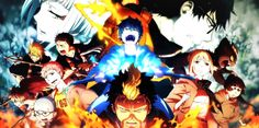Ao no Exorcist season II Ao No Exorcist, Blue Exorcist, Manga Art, Anime Art, Rin Okumura, Aesthetic Pictures, Aesthetic Wallpapers, Anime Guys, Most Beautiful Pictures