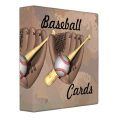 Shop Baseball Cards Binder created by Personalize it with photos & text or purchase as is!
