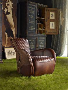 LOVE IT! Saddle Chair - Timothy Oulton  http://www.timothyoulton.com/usa/en/to/