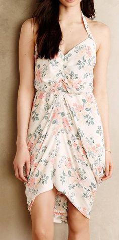 Draped Bouquet Dress