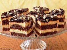 Czekoladowe ciasto z kremem śmietankowym.   FlyB Kulinaria Baking Recipes, Cake Recipes, Food L, Food Cakes, Cream Cake, Tiramisu, Cheesecake, Sweets, Pasta