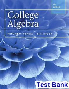 Organic chemistry 9th edition wade test bank test banks solutions college algebra 5th edition beecher test bank fandeluxe Gallery