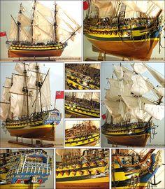 Admiralty Ship Models Ltd HMS Bellona 1760