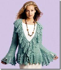 Free Crochet Jacket Pattern inkle weave pattern Free, online women's coat and jacket crochet patterns. free crochet jacket pattern double four patch quilt pattern Cardigan Au Crochet, Crochet Vest Pattern, Crochet Coat, Crochet Jacket, Lace Jacket, Jacket Pattern, Crochet Shawl, Crochet Clothes, Crochet Patterns