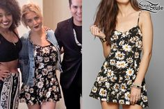 Perrie Edwards: Floral Romper | Steal Her Style