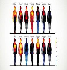 La mappa delle emozioni: Ecco come reagisce ogni parte del nostro corpo - Direttanews.it