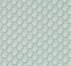 Lisa Fine Textiles Rambagh Sky Blue on Oyster