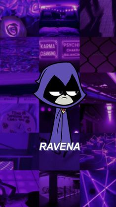 Raven Teen Titans Go Aesthetic iPhone Cartoon Wallpaper Iphone, Bear Wallpaper, Iphone Background Wallpaper, Cute Disney Wallpaper, Purple Wallpaper, Aesthetic Pastel Wallpaper, Cute Cartoon Wallpapers, Galaxy Wallpaper, Aesthetic Wallpapers