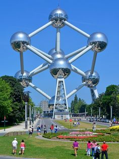 Visit one of the weirdest attractions in all of Europe—the Atomium in Brussels. It's an enormous model of an iron crystal built in 1958 that's both ebullient and terrifying in the way only the Atomic Age could be. —Paul Brady