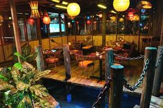 Lanai Outdoor Patio Hospitality Lighting of Mai Kai Restaurant, Fort Lauderdale « Products « Design Images, Photos and Pictures Gallery « DESIGN WAGEN