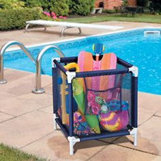Merveilleux Pool Toy Storage Bin   X Large Wow Could Just Wheel It All To The Shed! |  Pool Stuff | Pinterest | Pool Toy Storage, Toy Storage Bins And Toy Storage