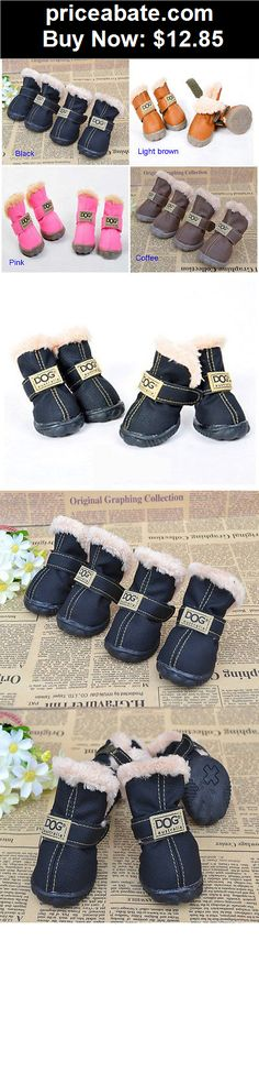 Animals-Dog: Winter DOG Australia Booties Snow Boots Sneakers Shoes for Puppy XS Small Dogs - BUY IT NOW ONLY $12.85