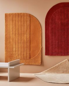 Hand tufted collection called Napa, designed by Note Design Studio and inspired by California's Napa Valley Wine Country. Espace Design, Tapis Design, Textile Design, Note Design Studio, Notes Design, Napa Valley, Teintes Pastel, Bedroom Sitting Room, Style Deco