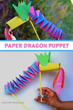 Chinese New Year Crafts For Kids, Summer Crafts For Kids, Paper Crafts For Kids, Easy Crafts For Kids, Craft Activities For Kids, Toddler Crafts, Preschool Crafts, Projects For Kids, Art For Kids
