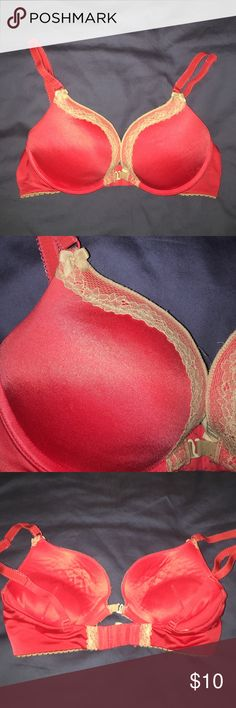 Aerie scarlet push up bra Good condition, has front and back closure options. No stains or flaws, just worn and washed. aerie Intimates & Sleepwear Bras