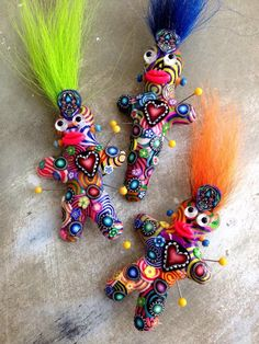 Fleurty Girl - Everything New Orleans - Voodoo Doll Pin, $12.