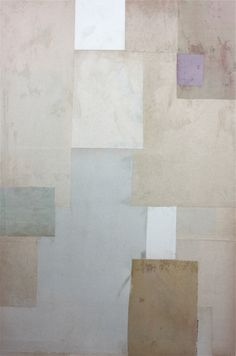 Cecil Touchon - Fusion Series #2908 - collage on paper - 2010