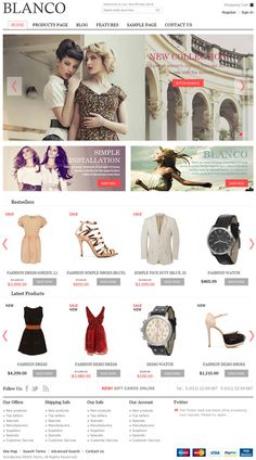 Blanco WordPress Theme is a stylish and trendy premium eCommerce WP Theme. This theme is designed by 8theme