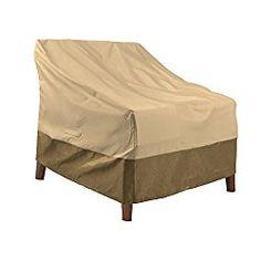 Veranda Round Patio Ottoman Coffee Table Cover Light Beige L