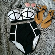 ☇FS!  🎉Best in Swim HP 6/29🎉 Very last one!!! I have 1 small left and that's it!! Don't miss out on this adorable suit!! Swim Bikinis