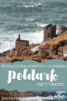 15 Poldark Filming Locations in Cornwall (and Beyond) to Swoon Over Dive into Poldark's Cornwall and visit some of the most beautiful and picturesque filming locations in the county (and beyond). Cornwall England, Yorkshire England, Yorkshire Dales, Poldark Filming Locations, Skye Scotland, Highlands Scotland, Things To Do In Cornwall, Places In Cornwall, Ireland Travel