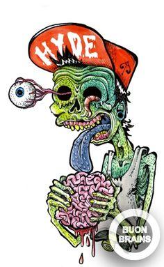 Dibujos dementes [Buon Brains]