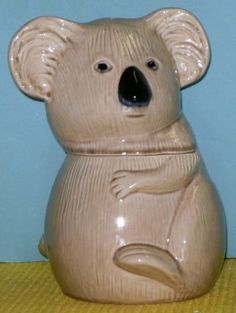 Koala Cookie Jar by Doranne of California