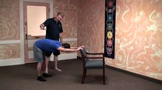 Dr Paul Jerard, E-RYT 500 (Director of Yoga Teacher Training - Aura Wellness Center) explains how to use the chair as a prop in Half Chair Pose. Demonstrations given by Yong Yang. Chair Pose, Yoga Courses, Yoga Teacher Training Course, How To Start Yoga, Online Yoga, Wellness Center, Vinyasa Yoga, Yoga Benefits, Yoga Everyday