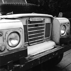 """""""Old Land Rover"""" by Koen Delvaux"""