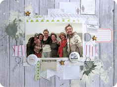 ScrapFriends Scrapbooking Blog: Step-by-Step - LO and Twine Technique by Gina Rodgers