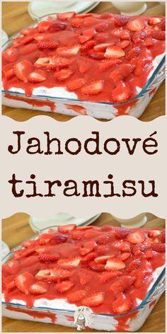 Tiramisu, No Bake Pies, Deserts, Dessert Recipes, Yummy Food, Sweets, Baking, Breakfast, Desserts