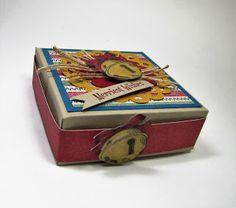 Jingle Bell Box - Maddiebug Designs - Christmas Magic, Stampin' up!