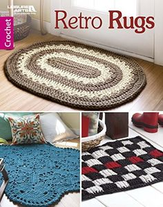 Weekend Crochet Projects: Quick & Easy Patterns #crochet #patterns #easy https://babytoboomer.com/2017/01/24/weekend-crochet-projects/ #retro #rugs #DIY #makeityourself