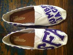 TOMS SFA Lumberjacks Women's Shoes by PersonalizedShoes on Etsy, $105.00